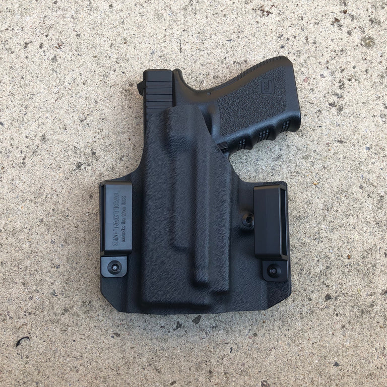 LIGHT BEARING GLOCK 19 KYDEX OWB HOLSTER FOR OLIGHT PL mini