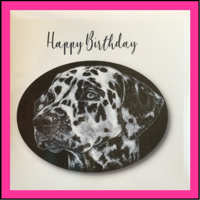 Greeting Card Dalmatian -