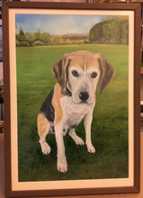 "Load image into Gallery viewer, Pet Portrait Hand Painted Original Oil Painting of your Dog on 16"" x 20"" Canvas"