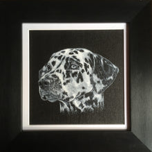 Load image into Gallery viewer, Pet portrait in oil or acrylic, hand-painted original from your photos.  Dalmatian dog painting.