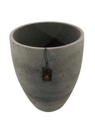Adelaide Cement Light  Pot High A  Antraciet 36x44
