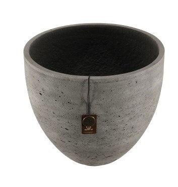 Adelaide Cement Light  Pot A  Antraciet 40x35