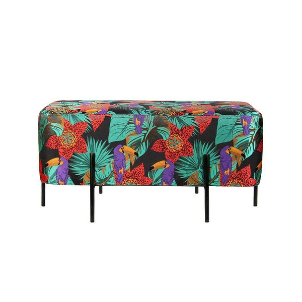Bench Toucan Multicolor 85x43x37cm