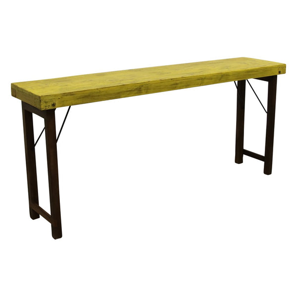 Console Table | 170x40x76 cm | Geel