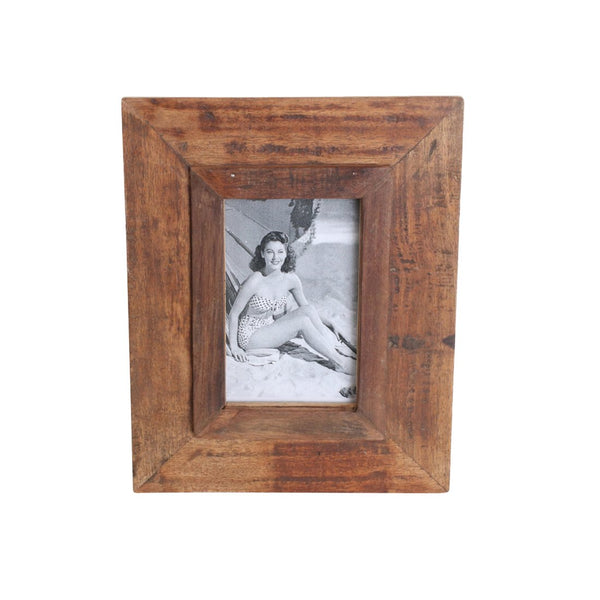 Factory Vintage Photo Frame | 20x25 cm | Bruin