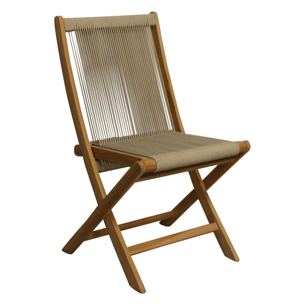 Rope Folding Chair | 50x47x87 cm | Naturel
