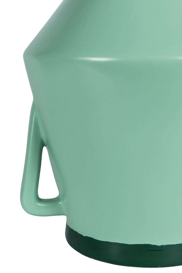 Vase With Handle Large Green Groen