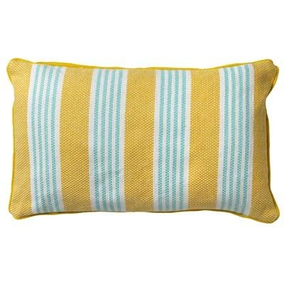 Sierkussen Stripes | 30x50 cm | Lemon
