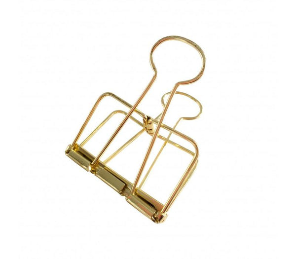 Binder Clips Gold Xl, 4x2 Pieces  Goud 51mm