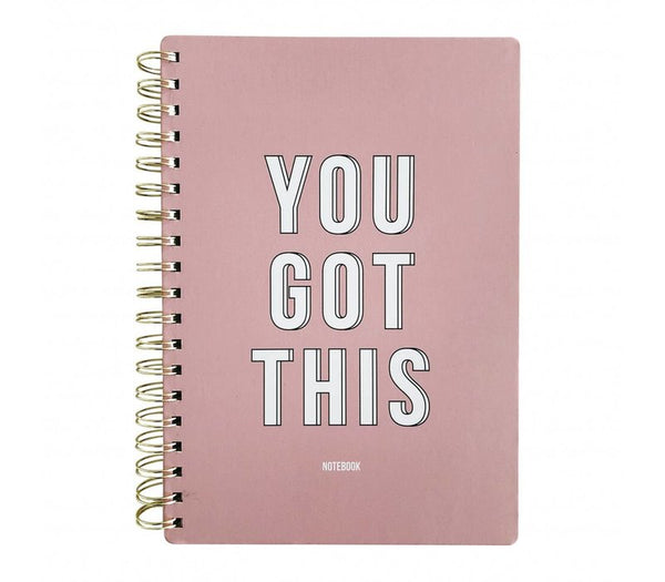 Notebook You Got This Pink, Per 3 Pieces