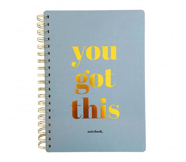 Notebook You Got This Blue, Per 3 Pieces