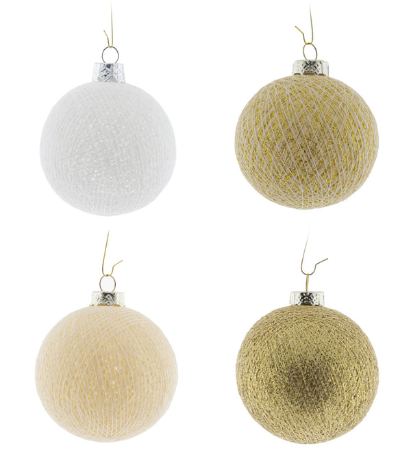 Kerstmis Cotton Balls | Touch Of Gold
