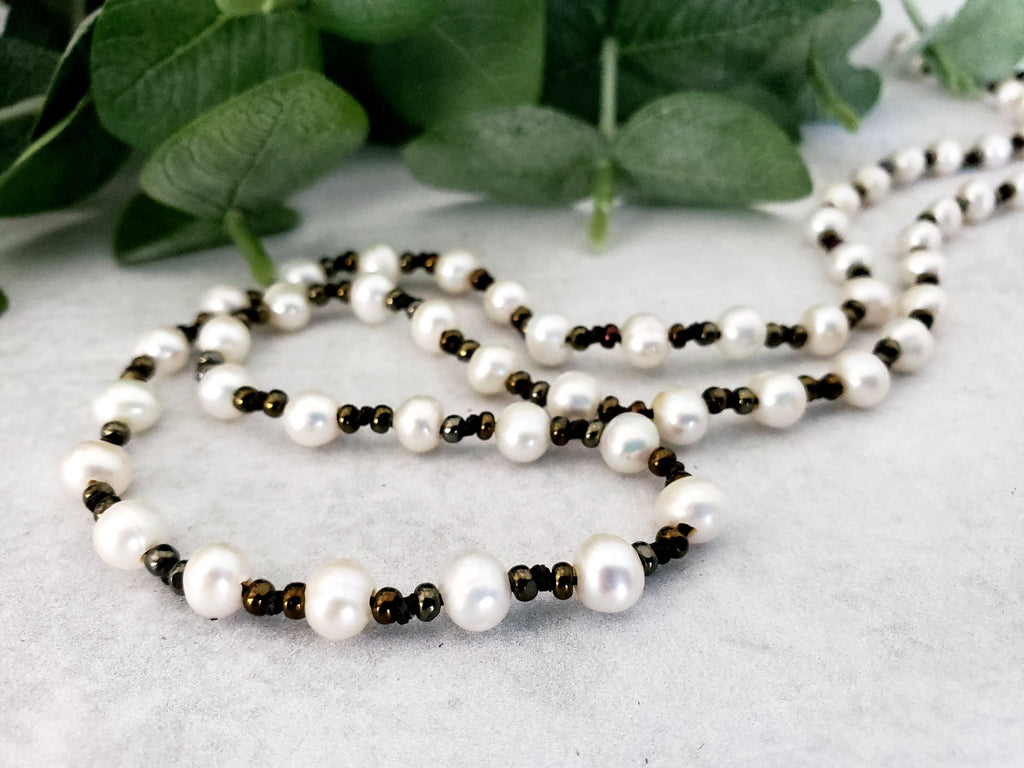 Hand Knotted Freshwater Pearls