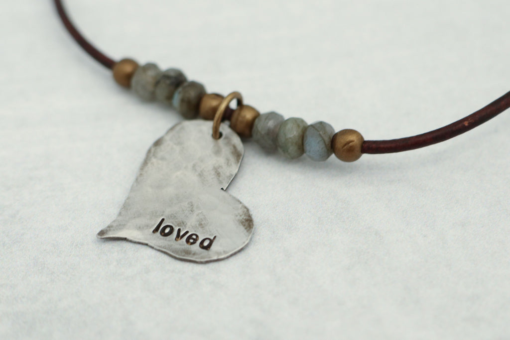A Heart For Love (Pewter)