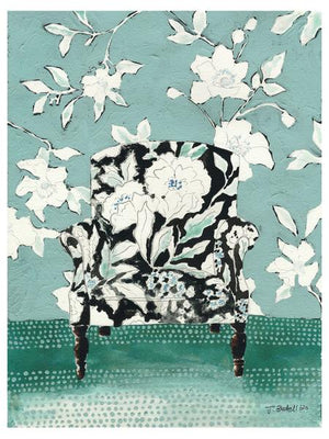 """Chair in Bloom"" Fine Art print - by Jojo Bedell"