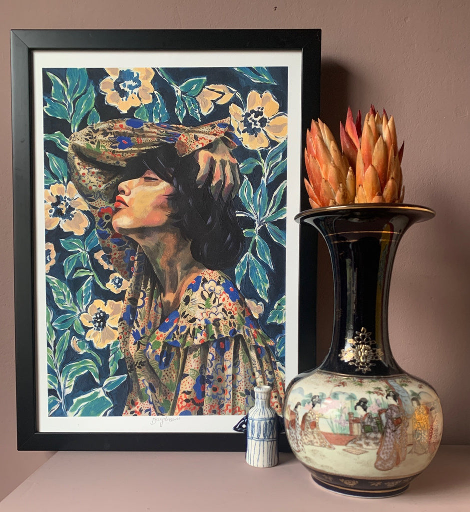"""Daydream"" Limited Edition Fine Art Giclée Print - by Jojo Bedell"