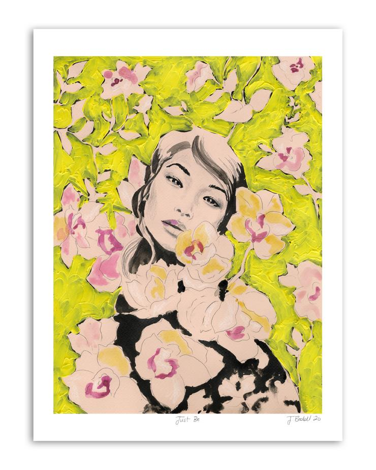 """Just Be #1"" Fine Art Giclée print - by Jojo Bedell"