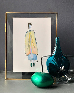 """Monique"" Fine Art Giclee Print - by Francesca Skelhorn"