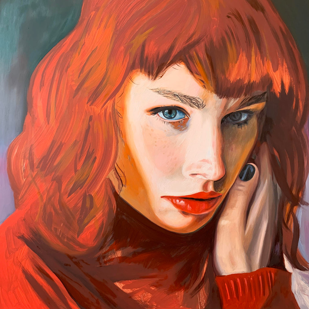 """Red Head"" Limited Edition Print - by Amanda Mulquiney-Birbeck"