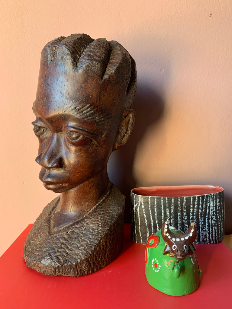 Small Wooden African Sculpture