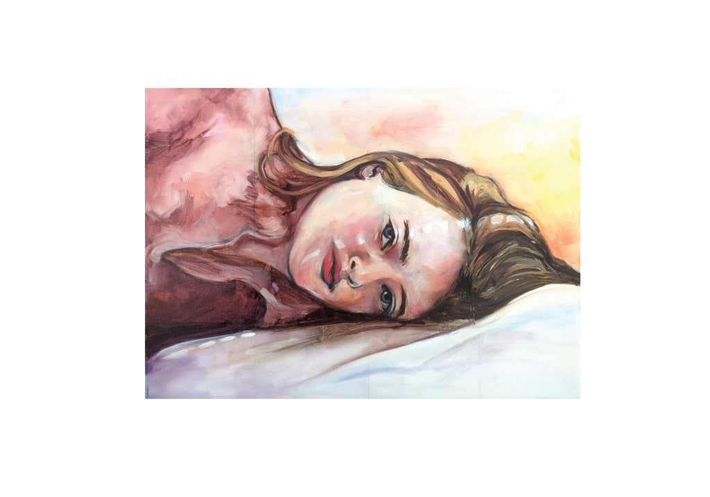 Oneoffto25.com I wish I would wake up, and it is all just a dream Print by Janet Stocker