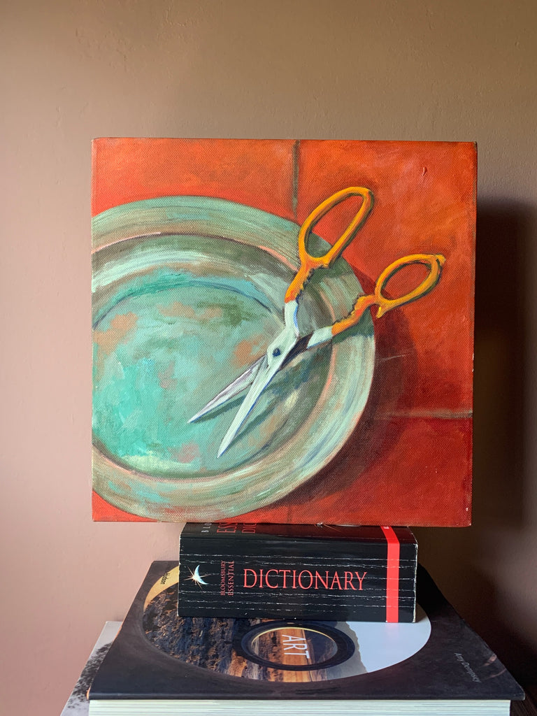 Small Still Life Original Painting by Unknown Artist