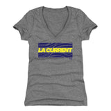 LA Current Women's V-Neck T-Shirt | 500 LEVEL