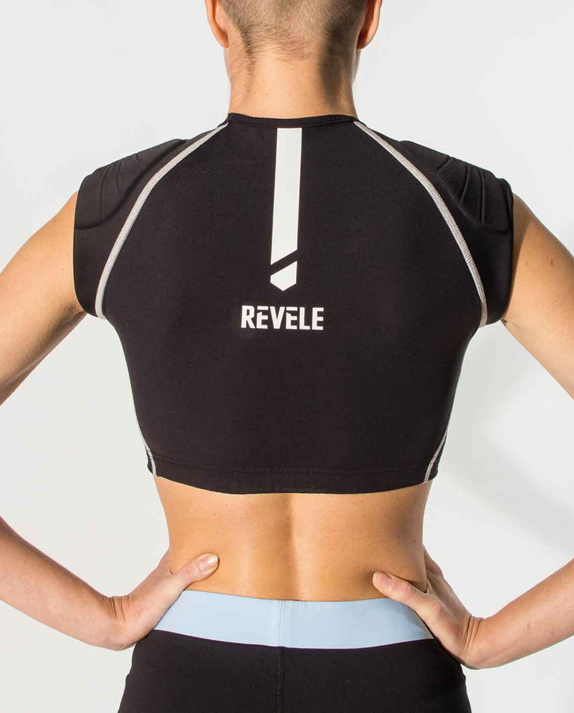 soft chest and shoulders protection - the Revelia