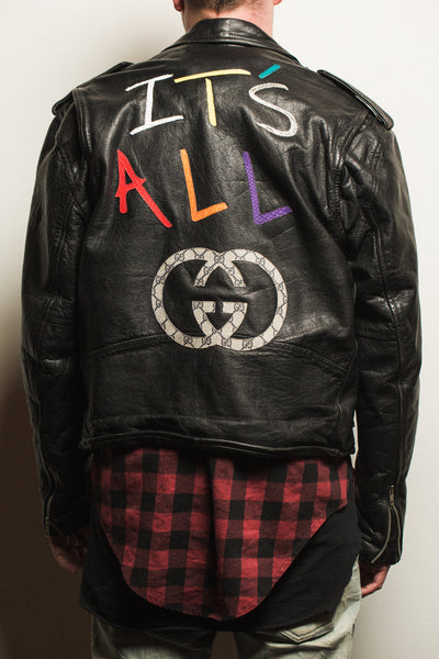 """IT'S ALL GUCCI"" Jacket"