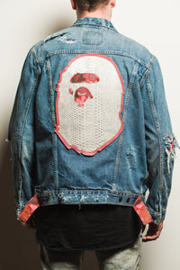 Levis x Bape Denim Jacket