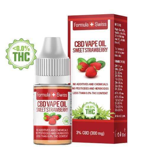 CBD Vape Oil Sweet Strawberry 3% (300 mg)