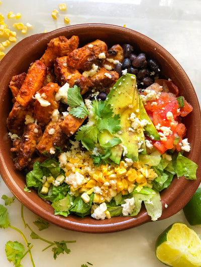 Mexican Inspired Chicken Bowl