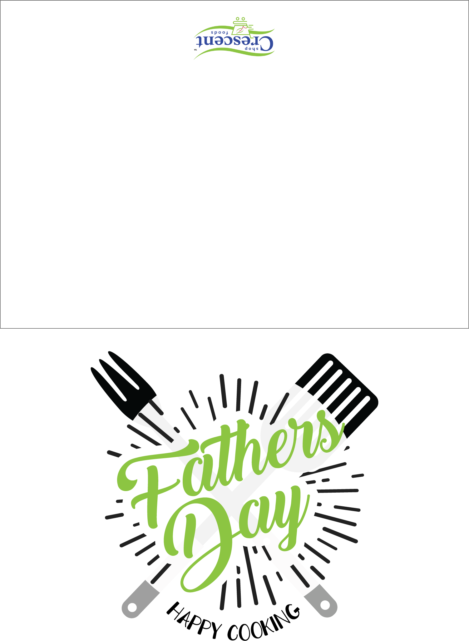 Fathers Day Greeting Card | Printable | Crescent Foods