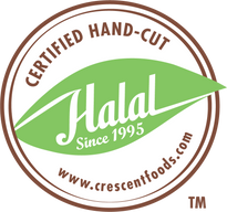 Crescent Foods Products are Halal Hand Cut