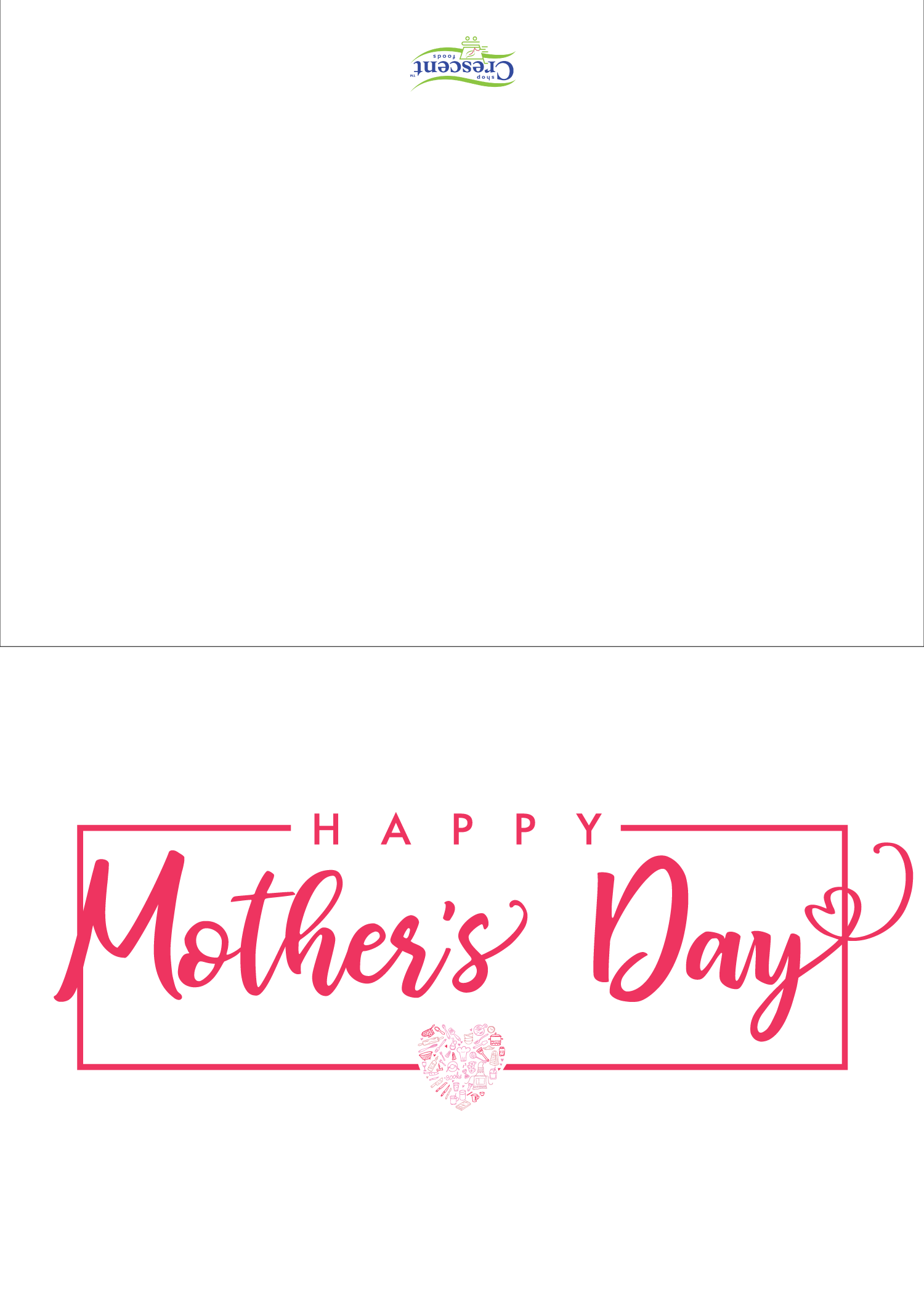 Mothers Day Card Printable | Crescent Foods