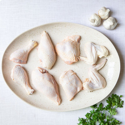 Crescent Foods 8 Piece Whole Chicken Cut Up | Home Meat Delivery