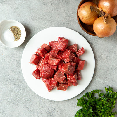 Crescent Foods Angus Beef Stew Meat | Home Meat Delivery