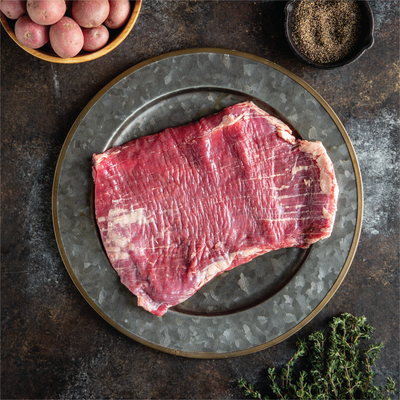 Crescent Foods | Grass Fed Flank Steak | Home Meat Delivery