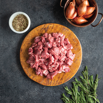 Grass Fed Lamb Stew Meat | Crescent Foods | Home Meat Delivery