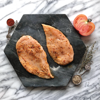 Crescent Foods All Natural Sundried Tomato and  Basil Seasoned Chicken Breast