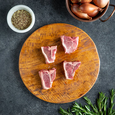 Grass Fed Lamb Loin Chop | Crescent Foods | Home Meat Delivery