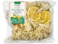 Lemon Rosemary Spatchcock (Butterflied) Chicken
