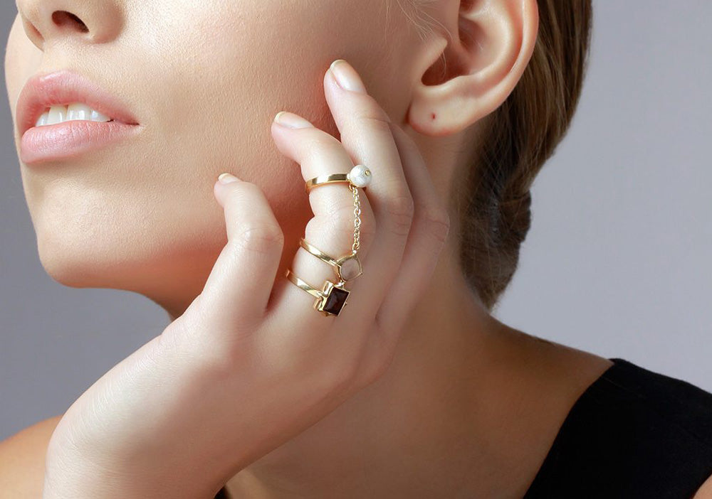 Bold Modern Cocktail Rings for Every Occasion