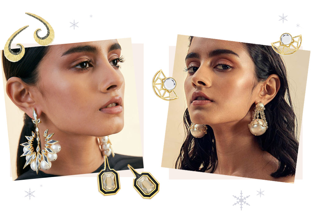 Stunning Statements: Modern Indian Earrings for Every Kind of Holiday Party