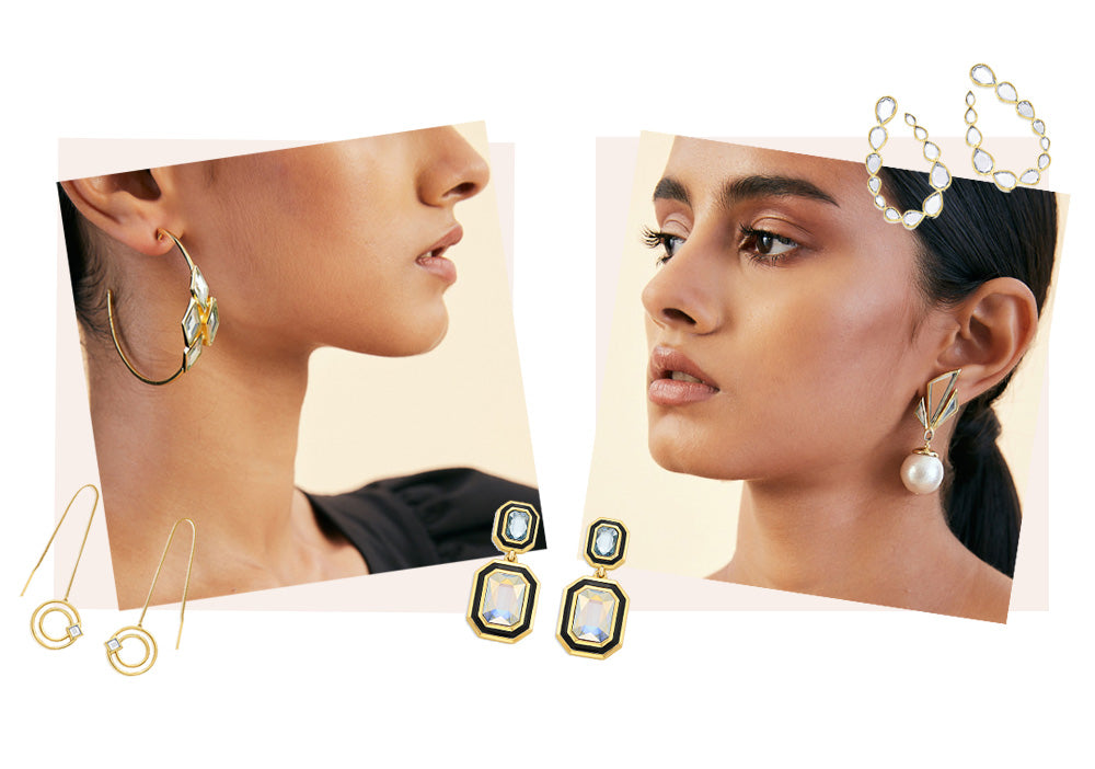 9 Pairs of Showstopping Modern Indian Earrings Under $100