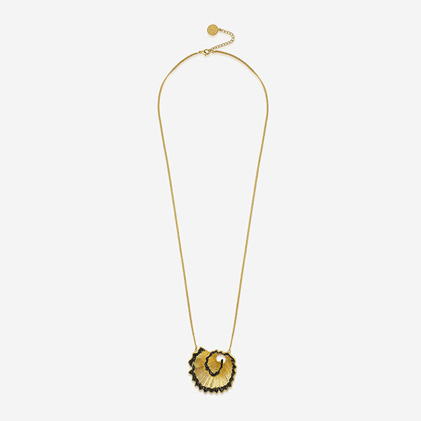 Modern Indian Fool's Gold Jewelry - Necklaces - Fool's Gold Detachable Layered Necklace