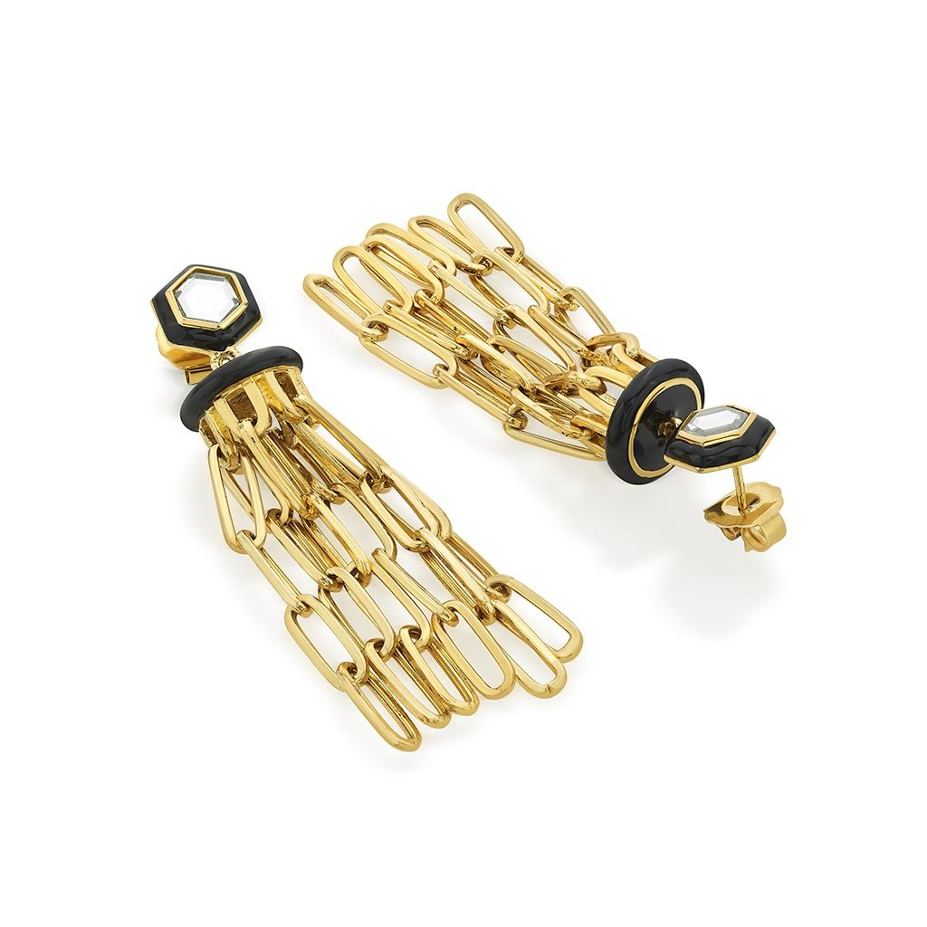 Isharya Borderless Chandelier Earrings