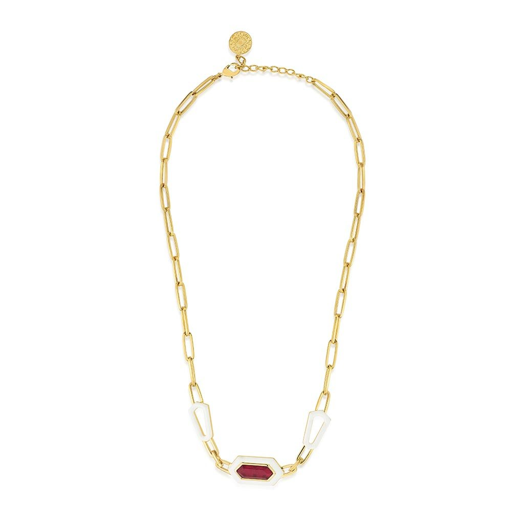 Isharya Borderless Linked Collar Necklace