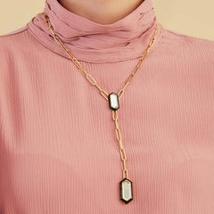 Isharya Borderless Y Necklace