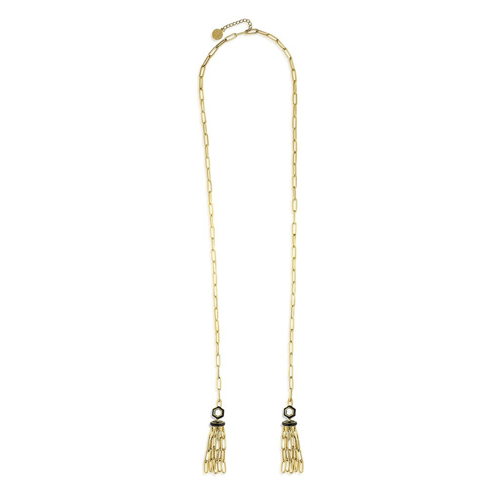 Isharya Borderless Hallow Lariat Necklace